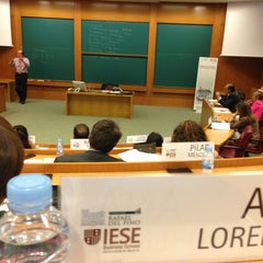 Photo taken at IESE Business School by Ana L. on 6/10/2013