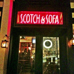 Photo taken at Scotch & Sofa by Dr. B. on 3/6/2013