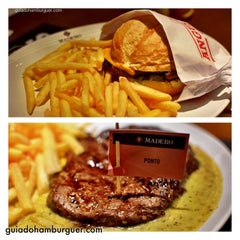 Photo taken at Madero Burger & Grill by Guia do Hambúrguer on 11/23/2013