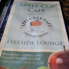 Photo taken at Apple Cup Cafe by Maya D. on 1/19/2013