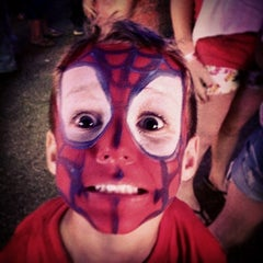 Photo taken at Ionia Fairgrounds by Michelle E. on 7/20/2014