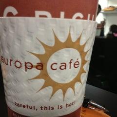 Photo taken at Europa Cafe by Jen A. on 1/8/2013