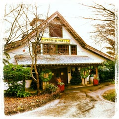 Photo taken at Cornelius Pass Roadhouse & Imbrie Hall by Rita R. on 12/24/2012