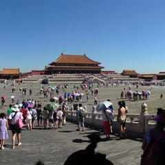 Photo taken at 故宫博物院 Forbidden City by Alfonso C. on 7/24/2013