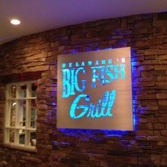 Photo taken at Big Fish Grill by Richard M. on 10/26/2012