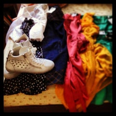 Photo taken at Buffalo Exchange by Cheryl Y. on 5/13/2013