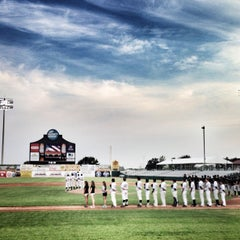 Photo taken at Nelson W. Wolff Municipal Stadium by Yvonne R. on 5/18/2013