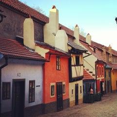 Photo taken at Zlatá ulička | The Golden Lane by František Č. on 4/14/2013