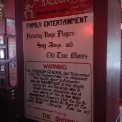 Photo taken at The Showboat Saloon by Scott B. on 6/11/2015