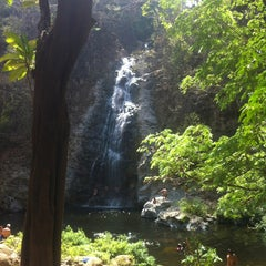 Photo taken at Montezuma Waterfall by Merlan U. on 3/25/2013