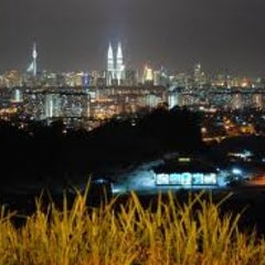 Photo taken at Bukit Ampang by Muhamad I. on 1/7/2013