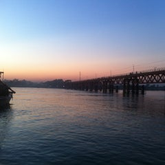Photo taken at Kalurghat Bridge by Ramkrishna B. on 11/27/2015