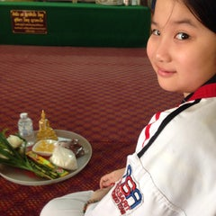 Photo taken at วัดหนองใหญ่ by Mummy S. on 3/15/2015