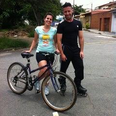 Photo taken at Ciclo-Faixa Paulo Faccini/Salgado Filho by Daniel M. on 2/3/2013