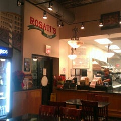 Photo taken at Rosati's Pizza by Loyal Tha Truth on 1/10/2013