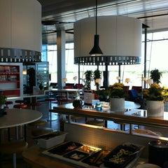 Photo taken at SAS Business Lounge by Robert Mehmet SInan I. on 7/11/2013