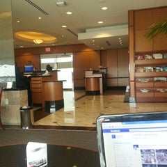 Photo taken at Delta Sky Club by Jerry T. on 4/2/2013