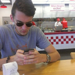 Photo taken at Five Guys by Денис Б. on 10/6/2013