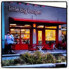 Photo taken at Little Big Burger by D P. on 2/9/2013