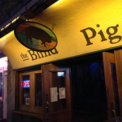 Photo taken at The Blind Pig Pub by LLCoolShaun on 3/3/2013