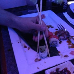 Photo taken at Sushi at The Lake by Jordan A. on 2/1/2013