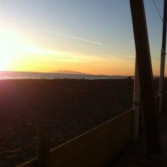 Photo taken at Spiaggia del Gabbiano by Federico S. on 3/3/2013
