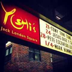 Photo taken at Yoshi's Jazz Club & Japanese Restaurant by MsAmeliaaa on 12/24/2012
