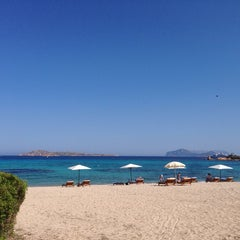 Photo taken at Hotel Romazzino, Costa Smeralda by Helmuth F. on 6/5/2014