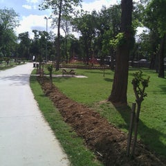 Photo taken at Millet Parkı by Ömer T. on 5/27/2013