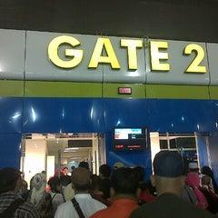 Photo taken at Gate 2 by Yudie R. on 11/5/2014