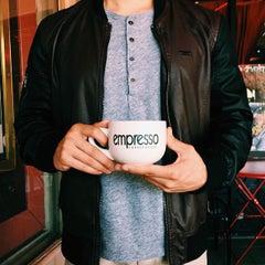 Photo taken at Empresso Coffeehouse by Stockton, California on 3/8/2015