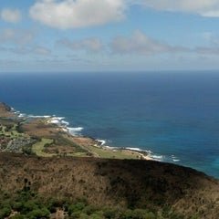 Photo taken at Koko Head Crater Trail by Quinn Z. on 7/4/2013