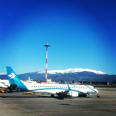 "Photo taken at Aeroporto di Verona ""Valerio Catullo"" (VRN) by Anna V. on 3/21/2013"