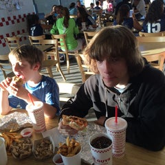 Photo taken at Five Guys by Larry H. on 4/19/2015