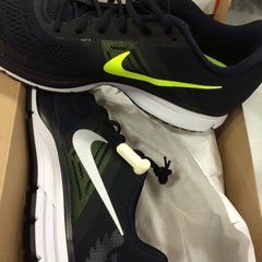 Photo taken at Nike Factory Store by David B. on 1/18/2015
