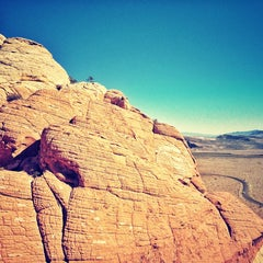 Photo taken at Red Rock Climbing Center by Adam Ł. on 4/11/2013