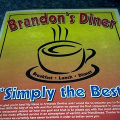 Photo taken at Brandon's Diner by Brooke B. on 12/24/2012