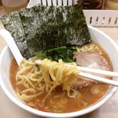 Photo taken at 横浜ラーメン町田家 町田本店 by meiyun on 1/21/2015