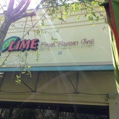 Photo taken at Lime Fresh Grill by Pino C. on 3/14/2013