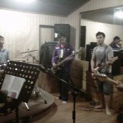 Photo taken at TnT musik studio,Kelapa Gading by Joanna l. on 4/6/2013