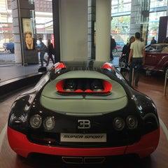 Photo taken at Bugatti   Automobil Forum Unter den Linden by Alexander P. on 9/14/2013