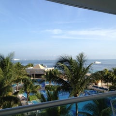 Photo taken at Hotel Riu Caribe by Mr. Molletti S. on 8/5/2012