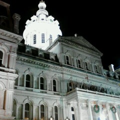 Photo taken at Baltimore City Hall by James M. on 11/28/2011