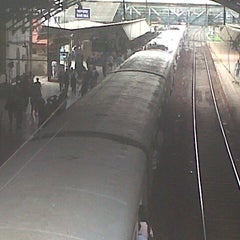 Photo taken at Bandra Railway Station by Mihir S. on 6/28/2012