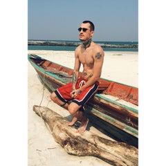 Photo taken at Malibu Beach Bungalows Koh Phangan by Masha S. on 1/16/2015