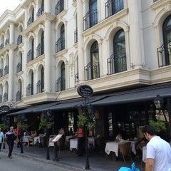 Photo taken at Sura Design Hotels & Suites by Aşkın E. on 7/5/2013
