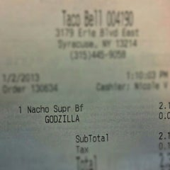 Photo taken at Taco Bell by Matthew S. on 1/2/2013