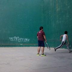 Photo taken at Unidad Deportiva by Alejandro P. on 1/17/2013