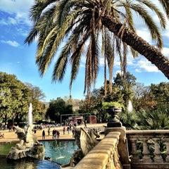 Photo taken at Parc de la Ciutadella by Amina B. on 4/1/2013