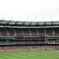 Photo taken at Melbourne Cricket Ground (MCG) by Melbourne Cricket Ground (MCG) on 10/13/2013